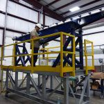 Large Rectangular Vibrating Tube Feeder