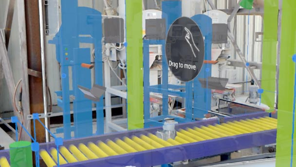 3D bag filling line design