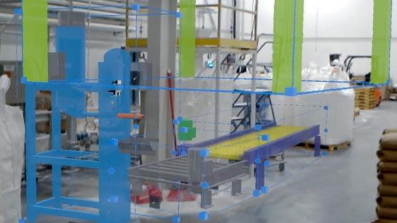 3D packaging plant design