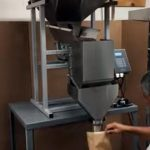 coffee packaging using the logical machines S4 table top model