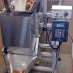 pretzel filling machine for large pieces and bites