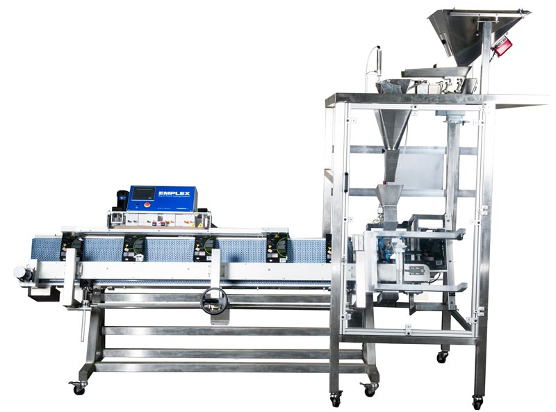 automatic coffee bag filling and sealing system