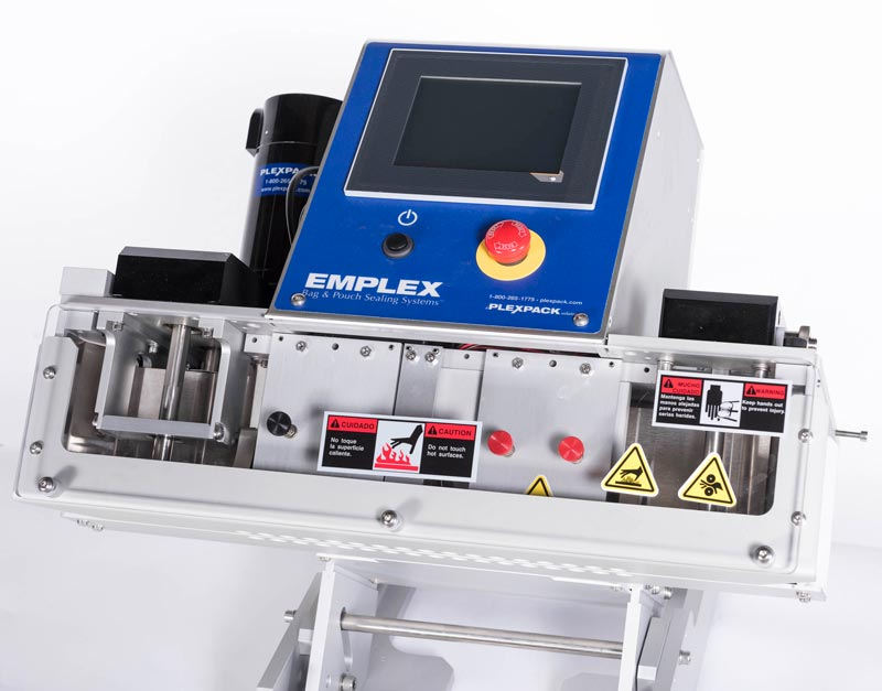 emplex 6140 table top band sealer for bags and pouches