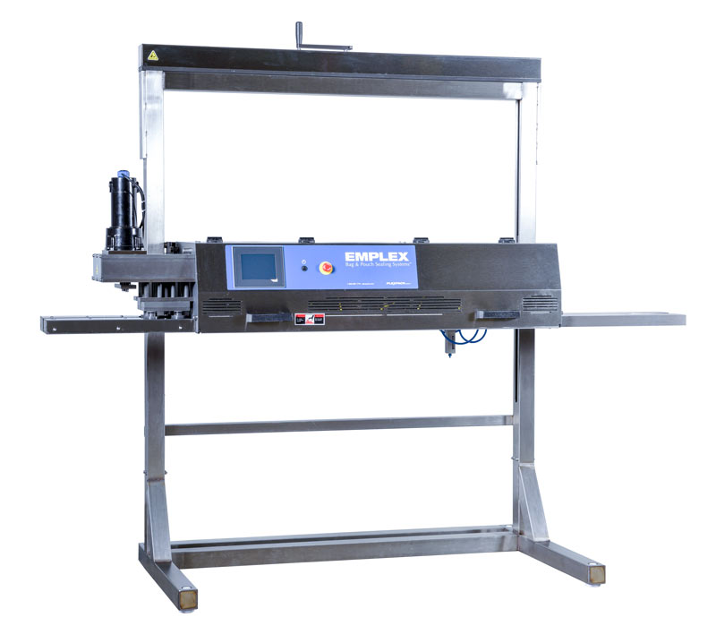 emplex mps 14000 high speed band sealer for bags and pouches