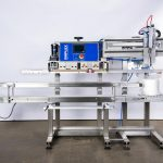 semi automatic coffee bag sealer machine with vacuum sealing and nitrogen gas flush