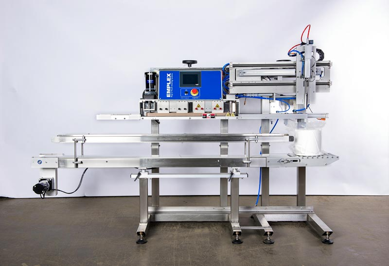 semi automatic coffee bag sealer machine with vacuum sealing and nitrogen gas flush