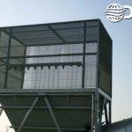 Dry Fog™ dust control on hopper