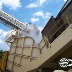 Dry Fog™ suppression system at biomass facility