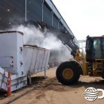 Dry Fog™ system at biomass processing facility