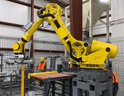 fanuc bag palletizing robot