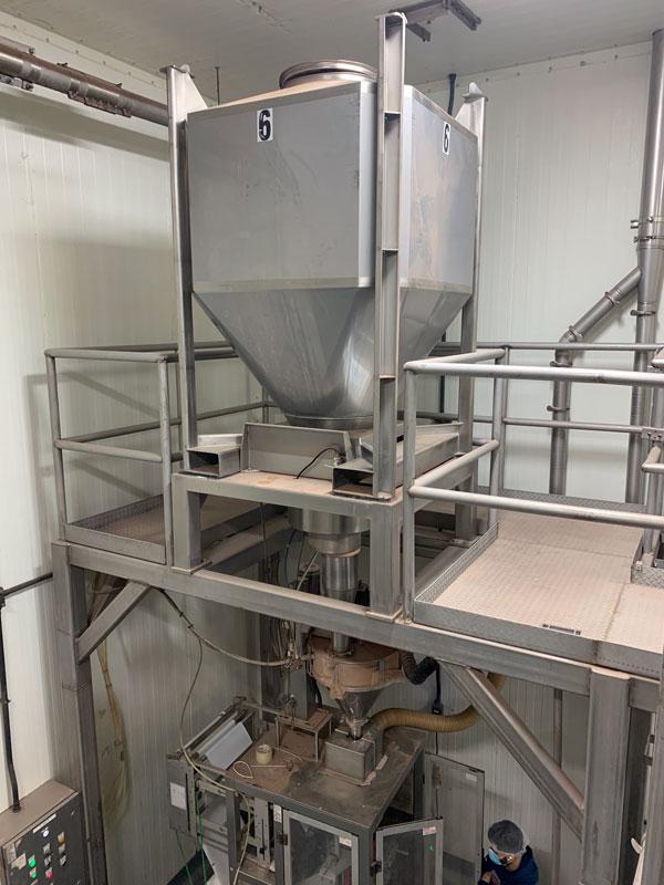 bulk bags vs IBCs - using stainless steel IBCs for seasonings