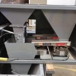 duplex net weigher with vibratory dribble feeders
