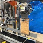 grain bagging equipment with digital gross weight bagging scale