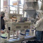 Aggregate Bagging Plant Fills Multiwall Paper Bags