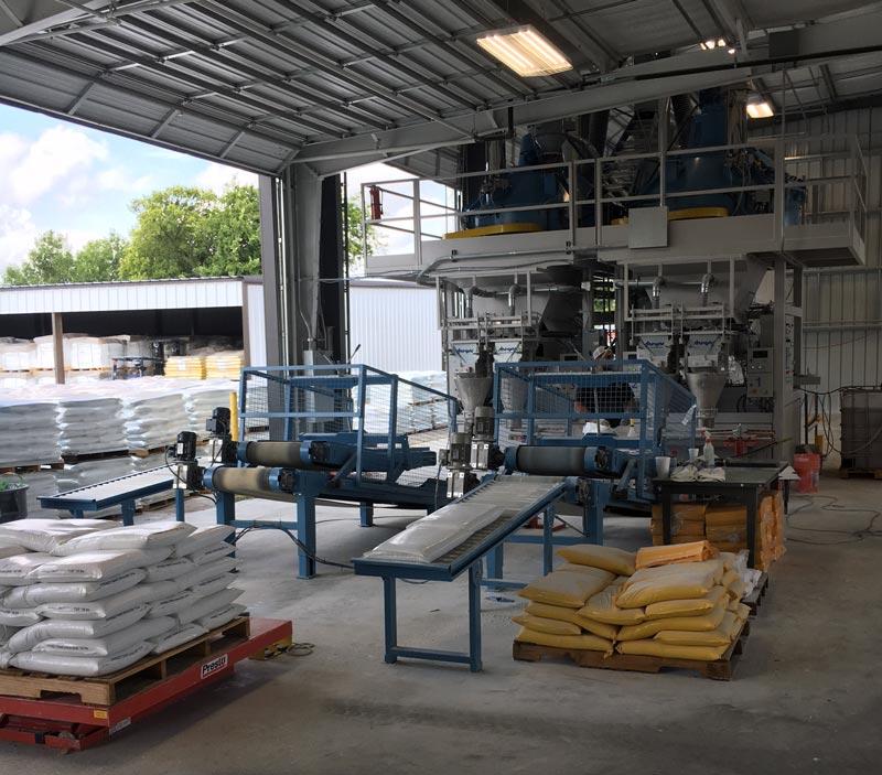 bag flattener conveyors to accumulation roller conveyors