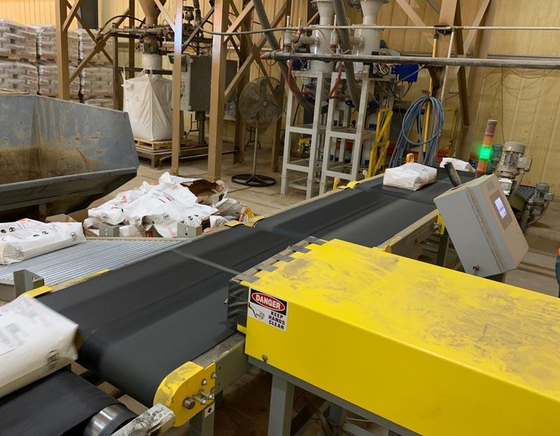 bag reject conveyor
