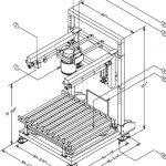 bulk bag filler with vibratory grid deck drawing