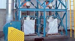 bulk bag filling equiment