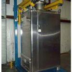 bulk bag filling machine with IBC bin adapter