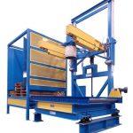 bulk bag filling station with automatic pallet dispenser