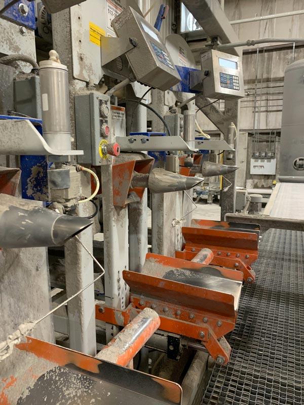 impeller packer valve bagging machines