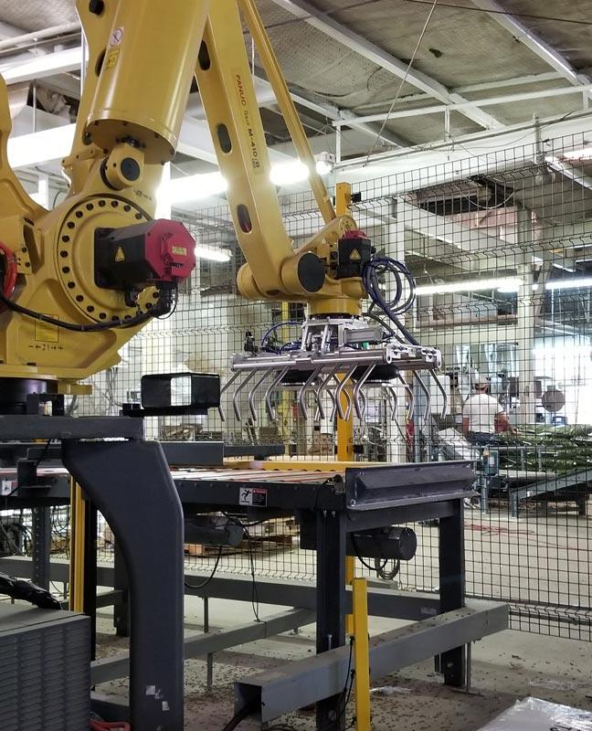 robot pick conveyor