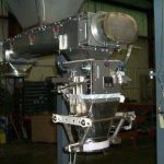 stainless steel auger fed bagging machine