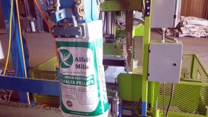 automated feed bagging system