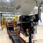semi automatic bag filling system with dual stacking station
