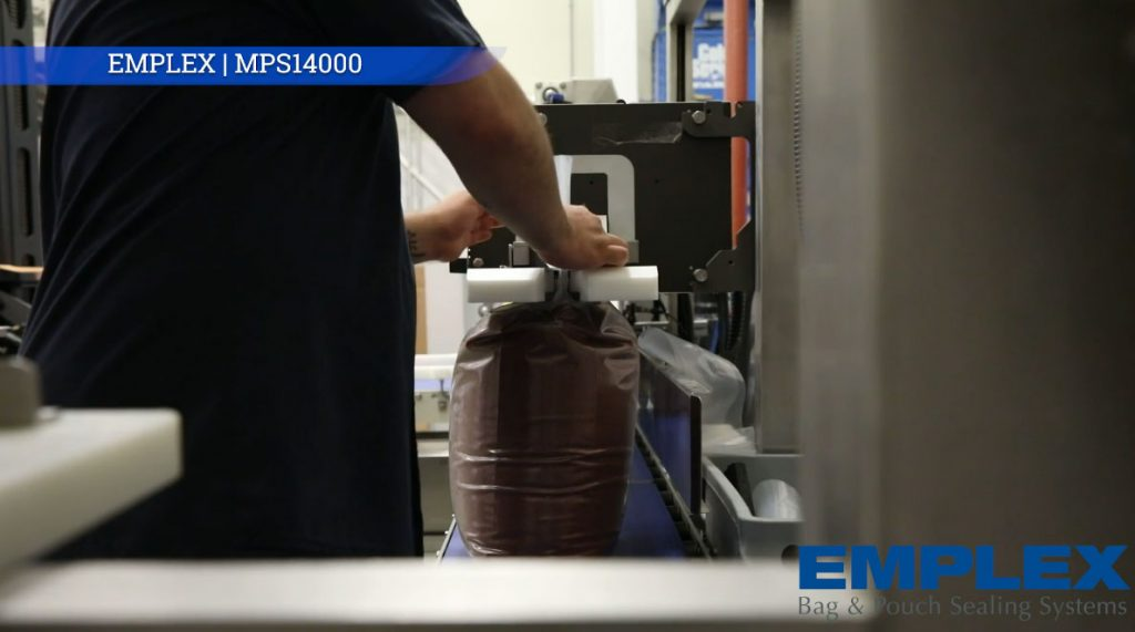 sealing bags of salt nema 4 high speed band sealer mps 14000 001