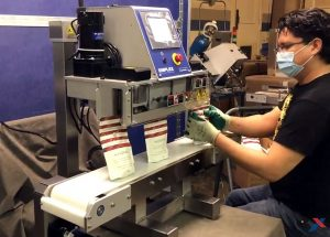 tabletop sealer for stand up pouches mps 6141