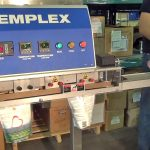 sealing stand up pouches on high speed band sealer with dual loading mps 7100