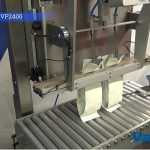 vacuum sealing bags of coffee with nitrogen gas flush vp 2400 003