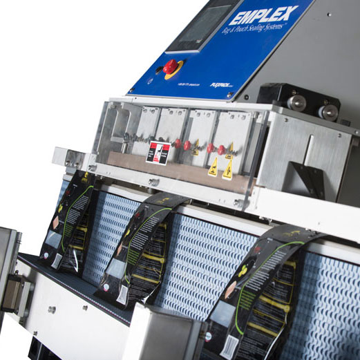 continuous band sealer for bags of coffee