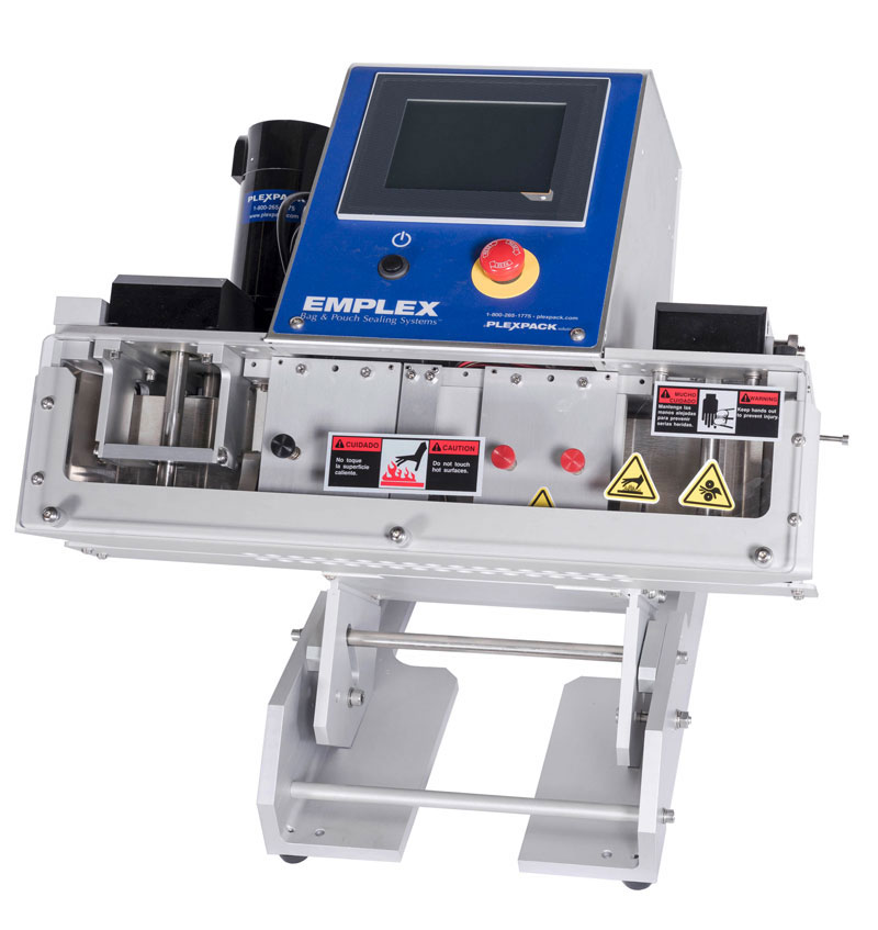 tabletop continuous band sealer for bags and pouches