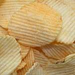 Seasoned potato chips